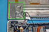 Modbookの中の配線をアルミテープで覆ってみた。の図/JPEG/6KB