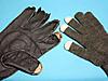 スマホ対応手袋の指詰めちう4本目の図/JPEG/6KB