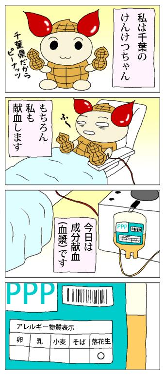 それゆけ!けんけつちゃん(千葉県オリジナル)/PNG/38KB
