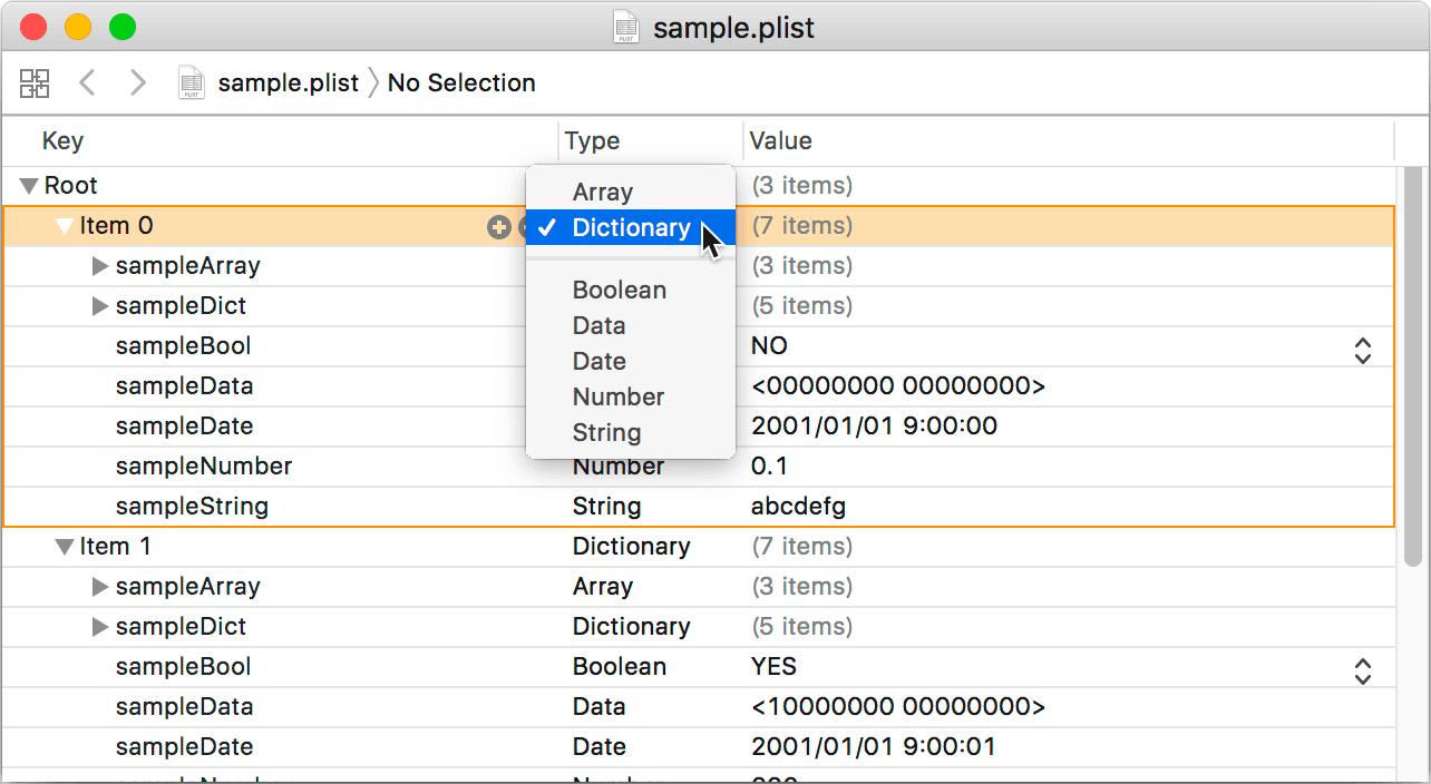 Xcode 9.0 での表示例/PNG/42KB